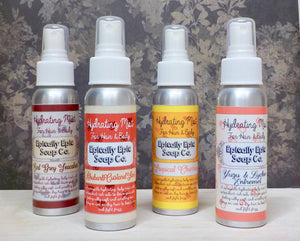 Argan Oil Mist for Hair and Body - Choose a scent from the British Baking Collection Part 2