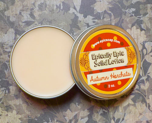 Autumn Horchata Many Purpose Solid Lotion - Fall Collection 2020 New Scent
