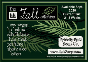 Whipped Cream & Roses Vegan Lip Balm - Fall Collection Flavor