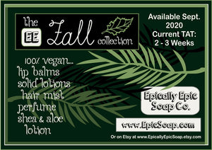 Cranberry Apple Epic Vegan Lip Balm - Fall Collection Flavor