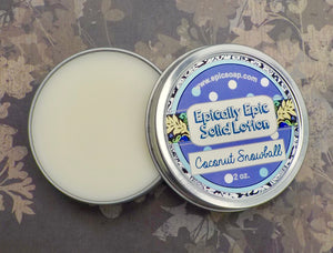 Coconut Snowball Many Purpose Solid Lotion - Winter / Spring 2021 Collection Scent