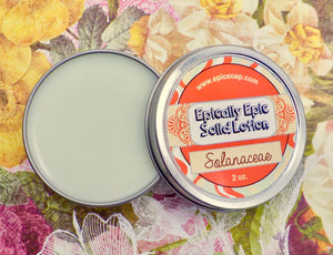 Solanaceae Many Purpose Solid Lotion - Winter / Spring 2021 Collection Scent