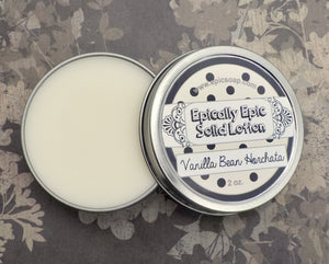 Vanilla Bean Horchata Many Purpose Solid Lotion - Winter / Spring 2021 Collection Scent