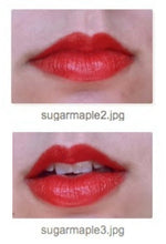 Load image into Gallery viewer, Sugar Maple Lip Color - Vegan Tinted Lip Balm - World's Brightest Warm Red