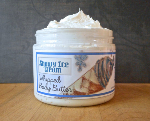 Snowy Ice Cream Whipped Body Butter