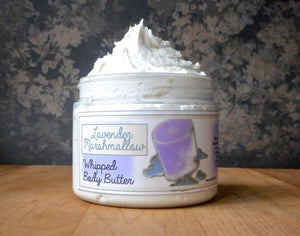 Lavender Marshmallow Whipped Body Butter