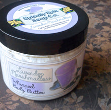 Load image into Gallery viewer, Lavender Marshmallow Whipped Body Butter