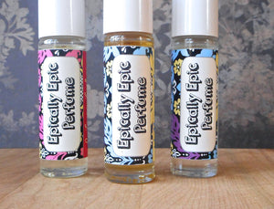 Perfume oil in a roll on bottle - 7ml - Choose a Scent from the Fall Collection