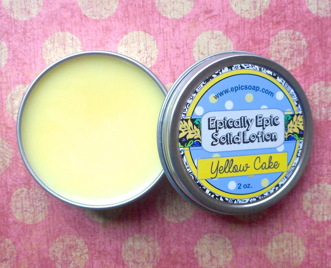 Yellow Cake Many Purpose Solid Lotion