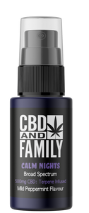 500mg CBD - Terpene Infused CBD Oral Spray - Calm Nights Edition 10ml