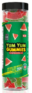 CBD Yum Yum Gummies - Watermelons (250mg-1500mg)