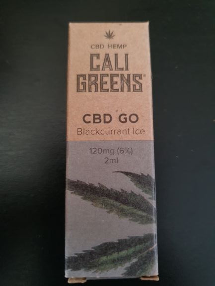 Cali Greens - 120mg CBD Blackcurrant Ice Vape Pod
