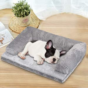 Petacc Dog Bed Detachable Pet Bed Soft Pet Sofa Comfortable Dog Lounge