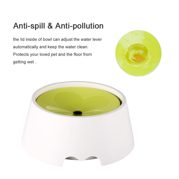 Petacc 2 in 1 Innovative Pet Bowl Anti-Spill No Spill Dripless Bowl - Petacc