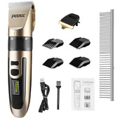 Petacc Dog Clipper 2-Speed Cordless Pet Hair Grooming Clipper Kit Hair Trimmer