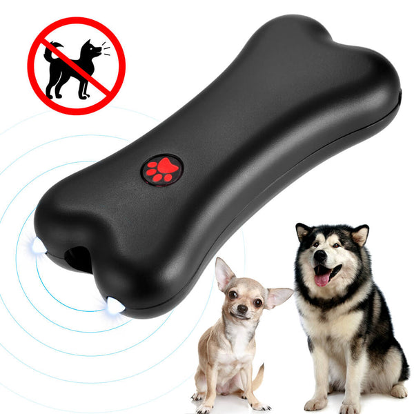 Petacc Hand-held Anti-barking Device Ultrasonic Deterrent Dog Barking Controller - Petacc