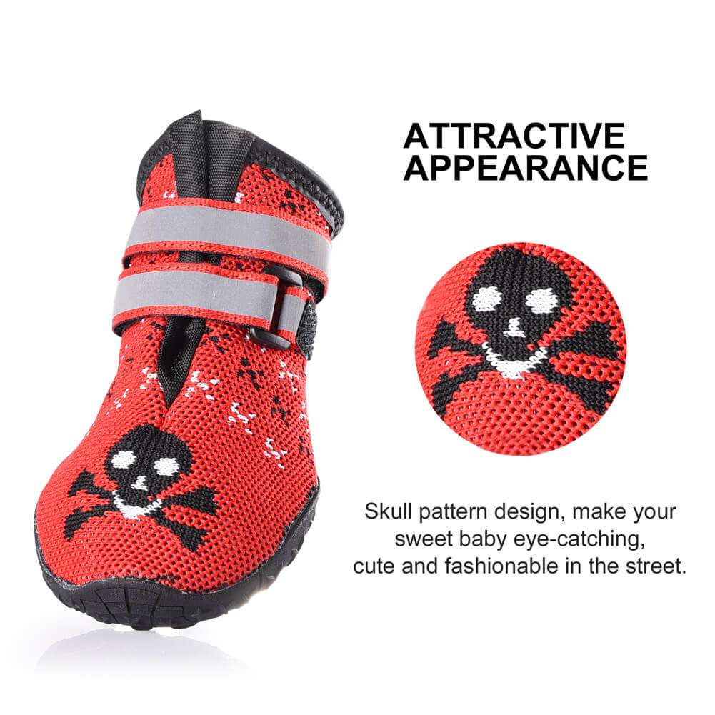 499deede2ac Petacc Pet Boots Puppy Shoes Paw Protector Dog Boot | Clothing & Shoes