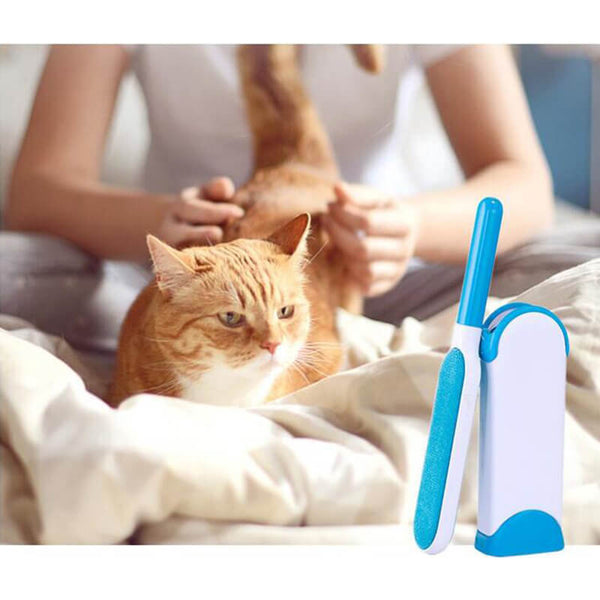 Petacc Pet Hair Remover Fur Brush Lint Removal Brush Cleaner - Petacc
