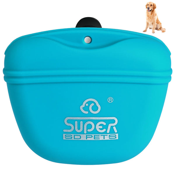 Petacc Pet Training Bag Silicone Portable Pet Treat Pouches - Petacc