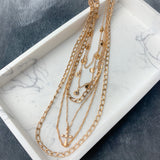 Layer Up Necklace w/ Studs
