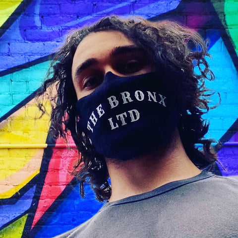 Face Mask The Bronx Brand  - Cotton Comfort. U.S.A Made.