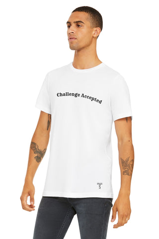 Unisex Short Sleeve USA Made Tee - Challenge Accepted