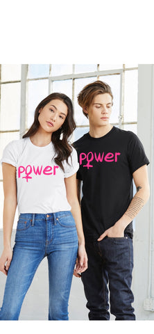 Unisex Short Sleeve USA Made Tee - Girl Power