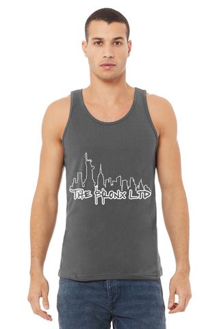 Unisex Jersey Singlet Tank Top U.S.A Made - The Bronx New York