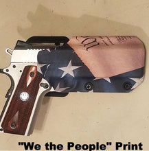 "Load image into Gallery viewer, Competition Holster in ""We the People"" print"