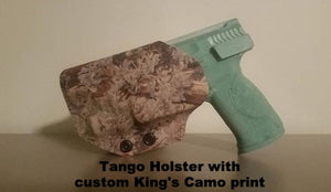 OWB holster in King's Camo