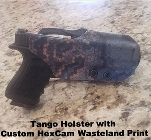 OWB Holster in HexCam