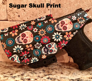 Glock 19 IWB Holster with Sugar Skull Print