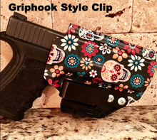 Load image into Gallery viewer, Example of Griphook style belt attachment on IWB holster