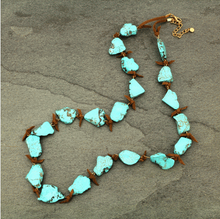 Load image into Gallery viewer, Western Stone Necklace