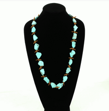 Load image into Gallery viewer, Western Stone Necklace on mannequin