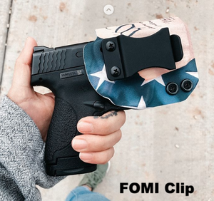 Example of FOMI clip on IWB holster