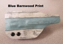 Load image into Gallery viewer, S&W Shield holster with Blue Barnwood print