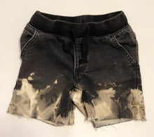Load image into Gallery viewer, Black Denim Shorts - 5
