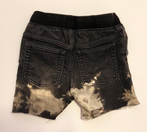 Black Denim Shorts - 5