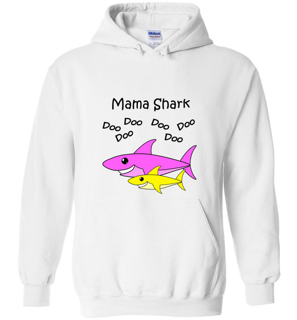 Baby Shark Matching Family Merch - Mama Shark Doo Do Unisex Hoodie