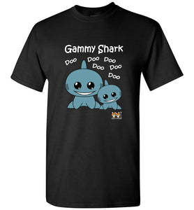 Baby Shark Family - Gammy Shark Song Doo Do Dark Unisex Tshirt tee shirt t-shirt