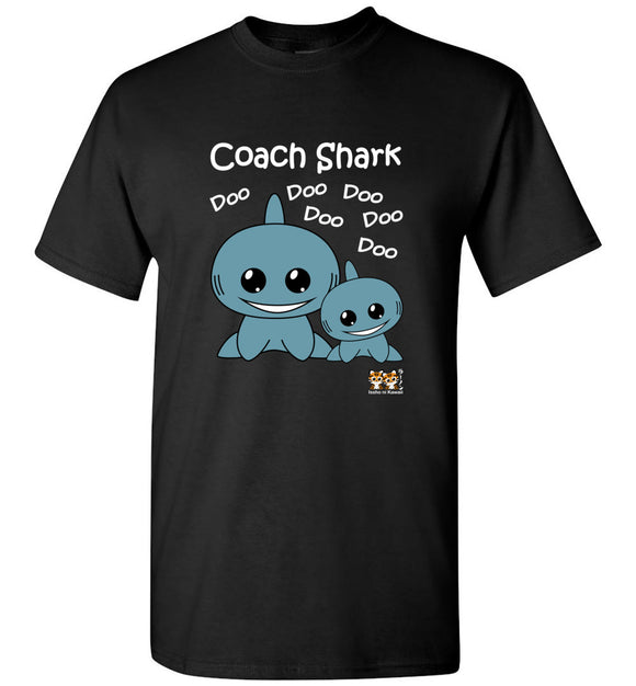 Baby Shark Family - Coach Shark Song Doo Do Dark Unisex Tshirt tee shirt t-shirt