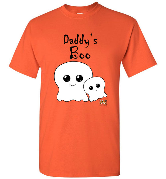 Daddy's Boo Youth Unisex Tee Shirt T-shirt Tshirt black text - Halloween
