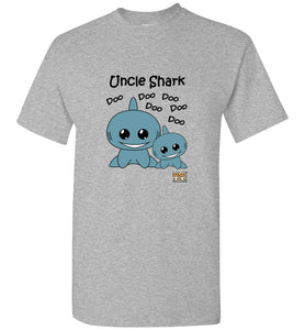 Baby Shark Family - Uncle Shark Song Doo Do Light Unisex Tshirt tee shirt t-shirt