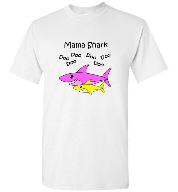 Baby Shark Matching Family Merch - Mama Shark Doo Do Unisex Tee Shirt T-shirt Tshirt