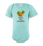 Mimi's Little Pumpkin Short Sleeve Infant Baby Bodysuit Romper Jumper