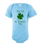 My 1st St. Patrick's Day Short Sleeve Infant Bodysuit/Romper/Jumper