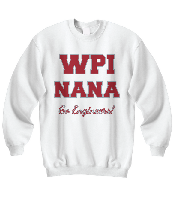 WPI Nana Go Engineers Sweatshirt - Worcester Polytechnic Institute