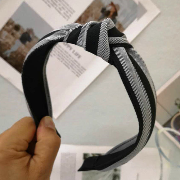 Striped Cloth Knotted Headband