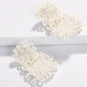 Luna Beaded Statement Earring